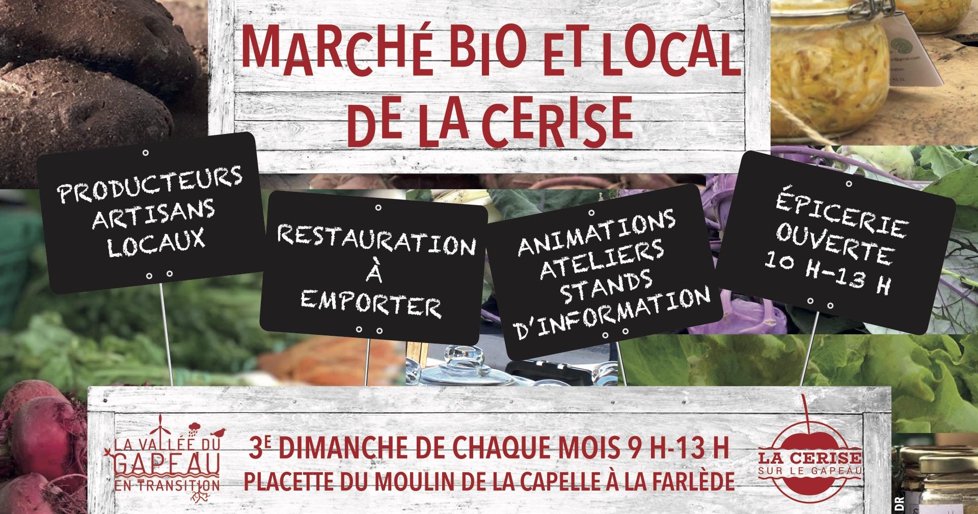 Marché Bio et Local de la Cerise - La Farlède