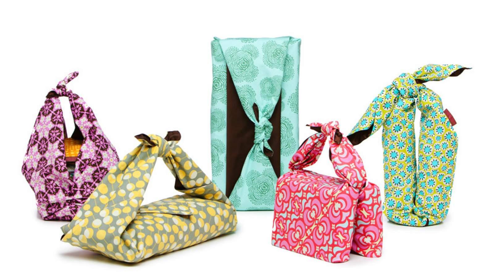 Des furoshiki pour emballer vos présents !