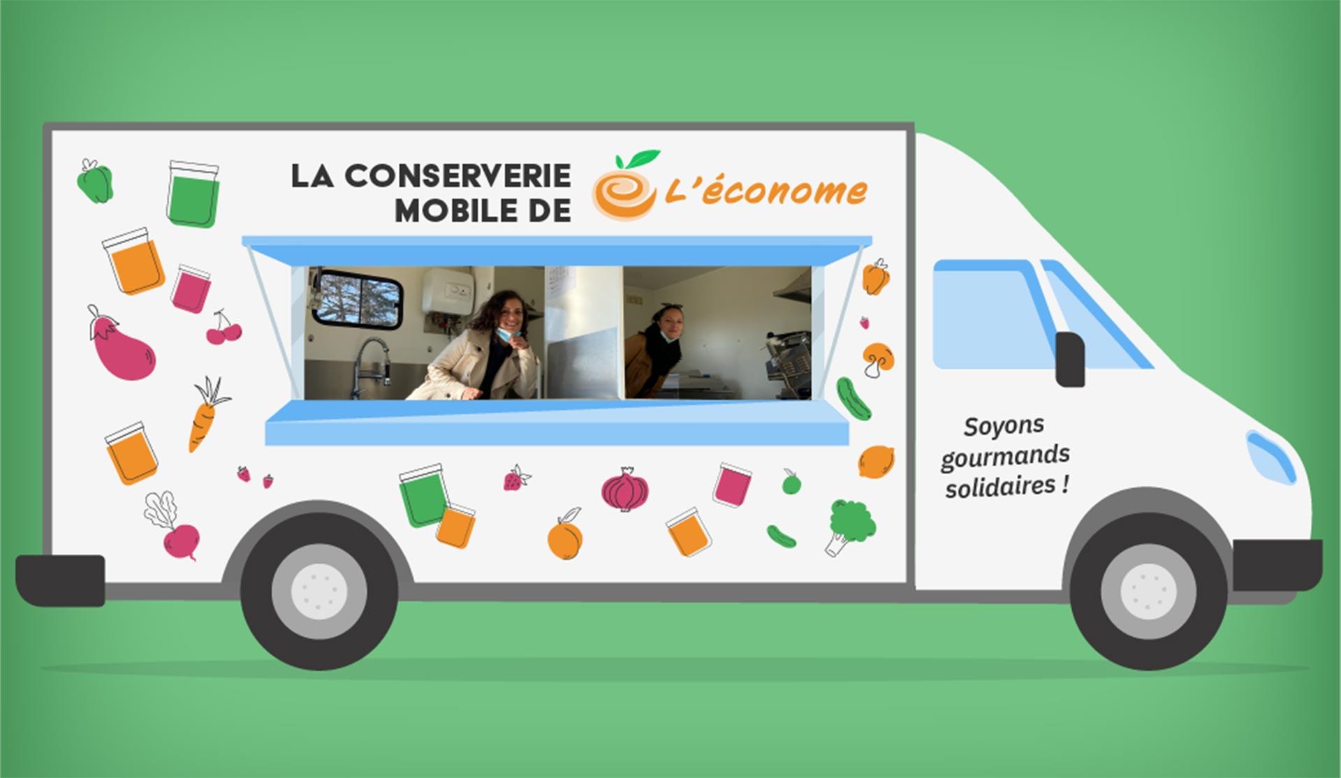 La conserverie mobile de L'Econome